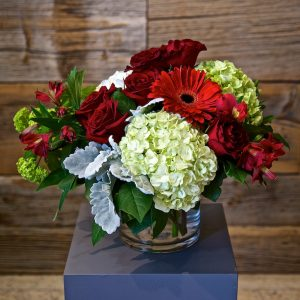 Large Red Flower Arrangement