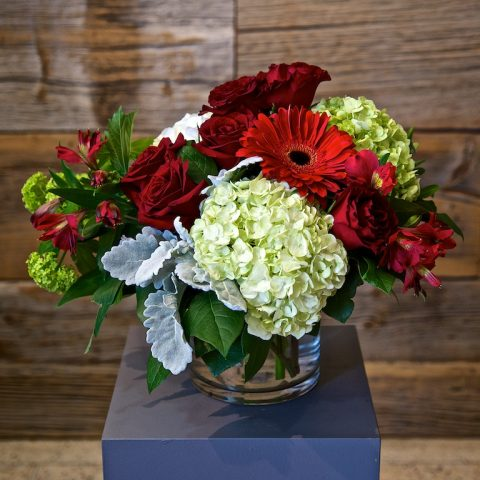 Large Red Flower Arrangement