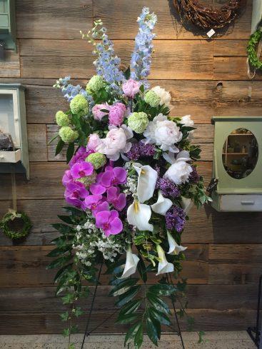 Blush Sympathy Flowers
