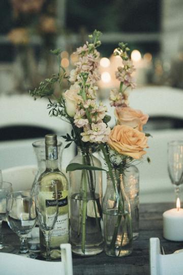 Wedding Centrepiece White