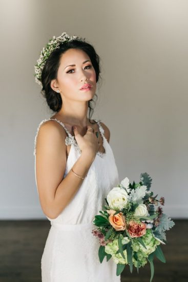 Wedding Floral Crown Bride