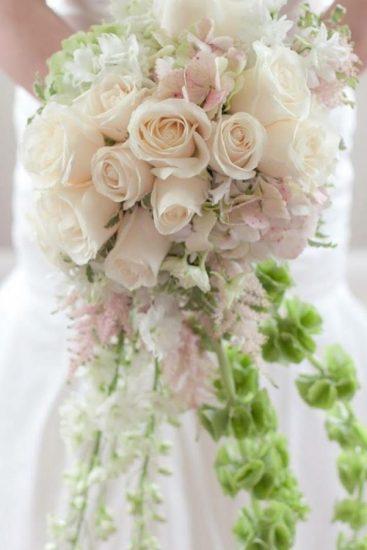 Wedding Flowers Cascade