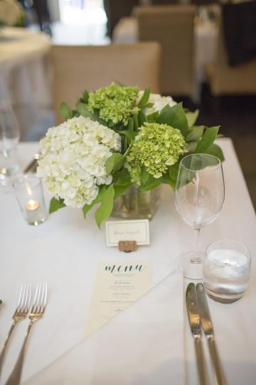 Neutral Wedding Centrepiece