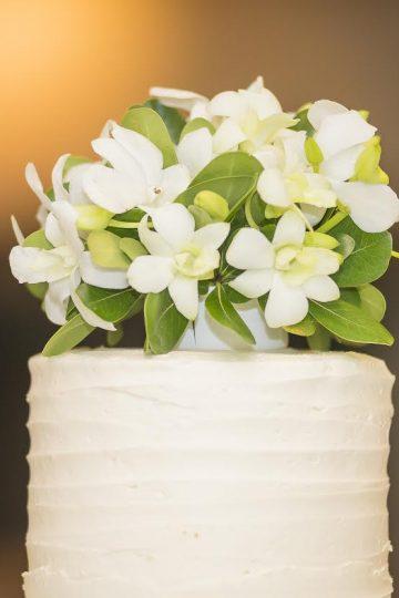 White Cake Topper Wedding