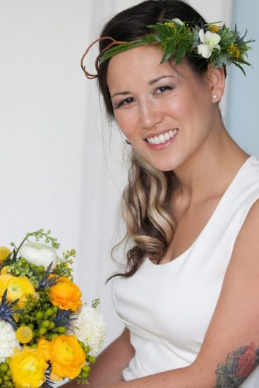 Wedding Crown and Bouquet