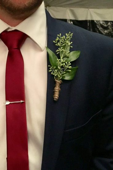 Willsbout Wedding Boutonnières