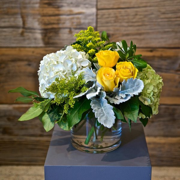 Small Yellow Flower Arrangement