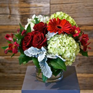 Medium Red Flower Arrangement