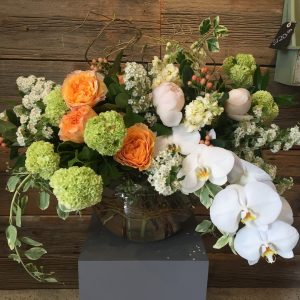 Large Orange Tribute Arrangement