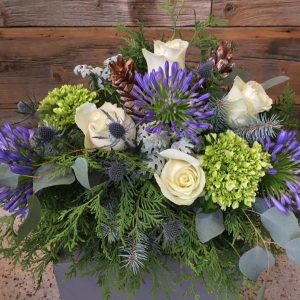 Purple Winter Arrangement