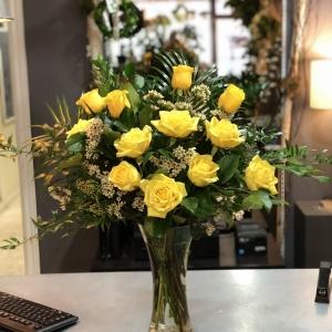 Elegant Yellow Roses