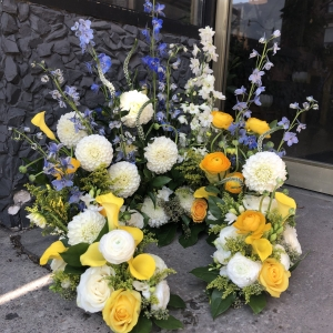 Whimsical Garden Urn Arrangement