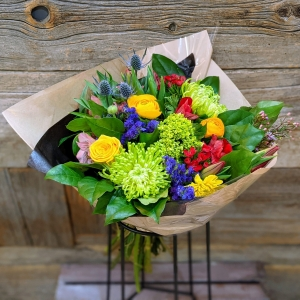 Designers Choice Colourful Handtied Bouquet