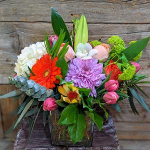 Vibrant Spring Arrangement